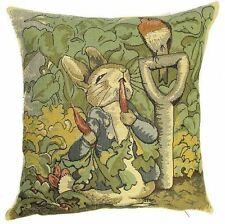 "NEW 14"" BEATRIX POTTER PETER RABBIT CUSHION COVER 871, BEAUTIFUL GIFT IDEA!"