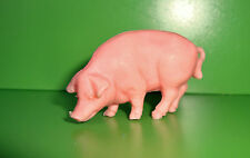 Ancienne Figurine figur la Roche aux fées - cochon truie (3x5cm)