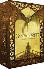 GAME OF THRONES SAISON 5 EDITION FNAC LIMITEE COFFRET DVD+DVD BONUS NEUF EMBALLE