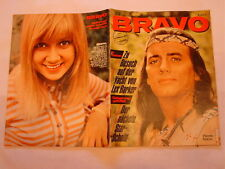 "BRAVO NR. 33 von 1966 - COVER "" WINNETOU "" PIERRE BRICE / RS = GITTE"