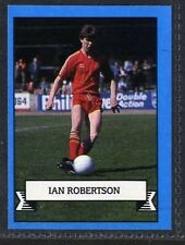 (Gp985-407) Merlin Football Card, Team 90, #312 Ian Robertson, Aberdeen 1990 EX