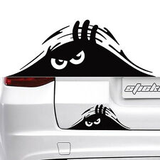 Peeking Monster Peep Car SUV Truck Windows Fuel Tank Cover Decal Sticker Graphic