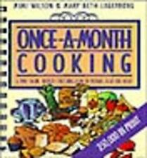 Once-a-Month Cooking, Mimi Wilson, Good Book