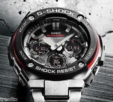 CASIO G-SHOCK SOLAR WATCH RELOJ HOMBRE RADIO COCKPIT 200 M GST-W100D-1A4ER