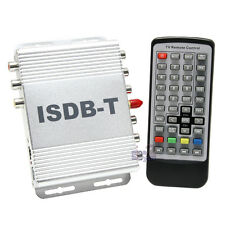 NEW In Car ISDB-T Digital TV Freeview Receiver ISDBT HD Tuner MPEG4 Brazil Chile