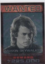 2015 Topps Chrome Star Wars Perspectives Sith Wanted #9 Anakin Skywalker   Vader