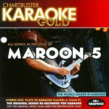 NEW - Karaoke Gold: Songs in the Style of Maroon 5 by Various Artists
