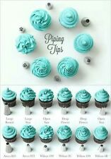 Cake Nozzle,Cream Nozzles - 24 Pcs  Decorating and Icing Piping Nozzle,