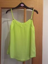 Lime Green Camisole Vest Size Small