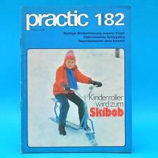 DDR practic 1/1982 Skibob Knobelwürfel Origami Mattenrodeln Kugelstafette Z