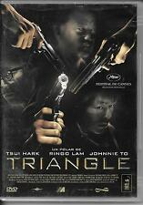 DVD ZONE 2--TRIANGLE--TSUI HARK/RINGO LAM/JOHNNIE TO