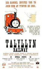 Talyllyn Sir Handel Railway Vintage Old Picture Retro Poster A4 Print