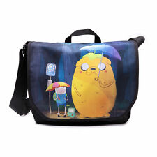Official Mash Up Adventure Time Finn & Jake Totoro Style Shoulder Messenger Bag