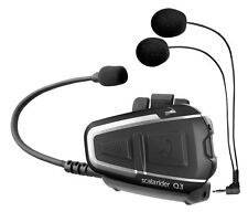 Cardo Scala Rider Q3 2016 Motorcycle Bluetooth Helmet Headset Intercom FM Radio