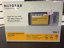 NetGear 108 MBPS Wireless PC Card