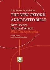 New Oxford Annotated Bible : With the Apocrypha by Michael Coogan, Carol...