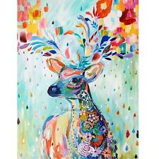 40*30cm DIY Paint By Number Kit Digital Oil Painting Canvas Lovely Deer