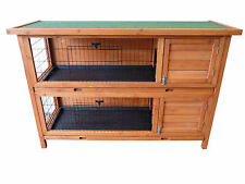 point-zoo Rabbit Small Animal Hutch Double Stall