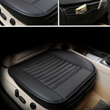 Leather Bamboo Charcoal Car Seat Cover Pad Soft Breathable Cushion Protect Mat