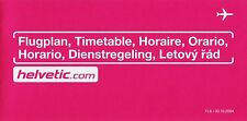 Helvetic (Switzerland) Timetable  June 11, 2004 =