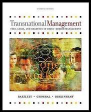 Transnational Management : Text and Cases-ExLibrary