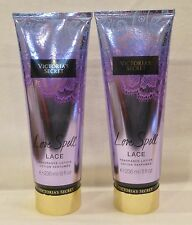 2 Love Spell Lace Fragrance Lotion Victoria's Secret 8 Oz