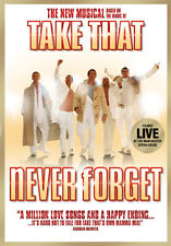 DVD:NEVER FORGET THE TAKE THAT MUSICAL - NEW Region 2 UK