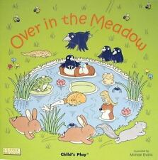 Over in the Meadow (Classic Books with Holes)-ExLibrary