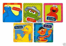 15 Sesame Street Elmo Stickers Kid Party Goody Loot Gift Bag Filler Favor Supply
