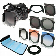 62mm Adapter Ring Square ND2 4 8 Filter + Holder + Case Kit For Cokin P Series