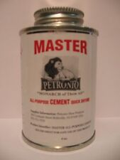 Master All Purpose Cement 4oz Brush in Can - Shoe Repair Cement- Shoe  Glue