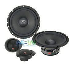 "*NEW* MOREL MAXIMUS 602 6-1/2"" 2-Way COMPONENT CAR AUDIO SPEAKER SYSTEM 6.5"""