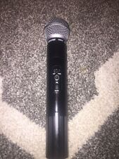 SHURE LX2-CL 192.200 MHz SM58 WIRELESS HANDHELD MICROPHONE TRANSMITTER Working