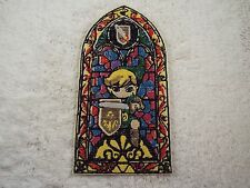 """Legend of Zelda Stained Glass LINK 7"""" Embroidery Iron-on Applique Patch (E2)"""