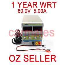 Adjustable Variable Power Supply Linear Mode 60V 5A Fan cooling Electronic Test