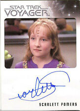 Quotable Star Trek Voyager Scarlett Pomers Naomi Wildman VERY LIMITED Autograph!