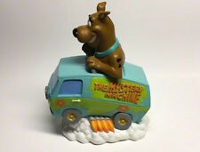 RARE! Year 2000 Scooby Doo in The Mystery Machine Van Coin Bank