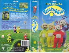 TETETUBBIES HERE COMES THE VHS VIDEO PAL~ A RARE FIND