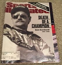 "Sports Illustrated issue ""The death of Dale Earnhart""  Feb. 26, 2001"