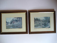 """LATE 1970'S VINTAGE PICTURES OF TISSINGTON AND MILLDALE ( 11"""" WIDE x 9"""" HIGH )"""