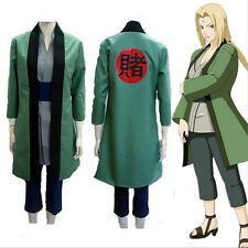 HOT Anime NARUTO Tsunade Cosplay Costumes Whole Set Halloween Toy Gift