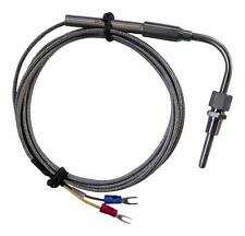 Exhaust Gas Temperature (EGT) Probe -200°C to 1250°C 2M stainless steel cable