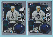 Lot of (2) 2001-02 Pacific Heads Up HD NHL Mats Sundin Toronto Maple Leafs #9
