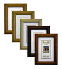H1 WOODEN Photo Picture Frames In Pine Beech And Rosewood