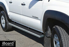 "Premium 4"" iBoard Running Boards Fit 05-17 Toyota Tacoma Double Cab/Crew Cab"