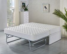 SINGLE bed Base with Trundle bed with 2 mattresses/ 5 years warranty
