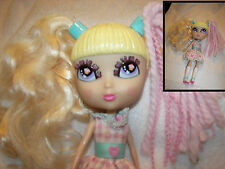 "Cutie Pops Doll cupcake by Jada Toys  removable hair 12 x 7"" yarn hair and hair"