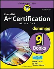 CompTIA A+ Certification All-in-One For Dummies by Glen E. Clarke [Paperback]NEW