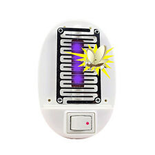 LED Electric Mosquito Fly Bug Insect Trap Zappers Killer Night Lamp USA Plug New