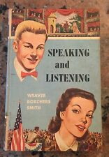 Speaking And Listening Book 1956